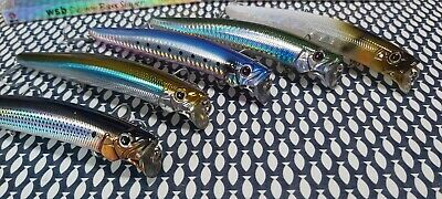 Demon Bass Slayer - 130mm 21g Floating Lure, 5 Enticing Fish Colours • 12.99£