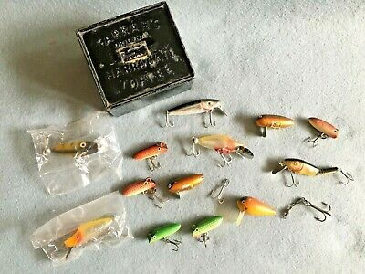 Box Of Mixed Lures , Plastic / Wooden For Pike /perch / Predator , For The User  • 14.99£