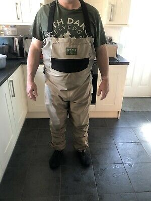 Orvis Bootless Chest Waders Size Large 11-12 • 23£