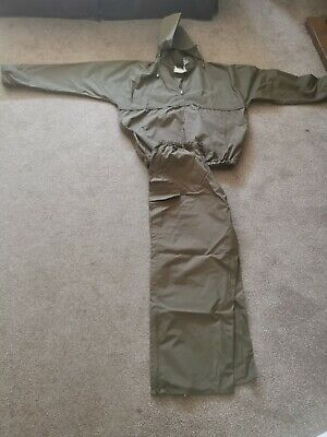 TRAKKER Waterproof DOWNPOUR SUIT Jkt And Trousers Large (trousers Never Worn) • 10.50£