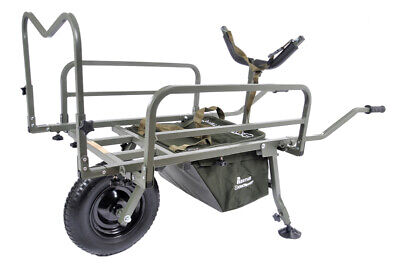 PRESTIGE CARP PORTER MK2 BARROW 2021 FREE GREEN COVER (direct From Manufacturer) • 159.99£