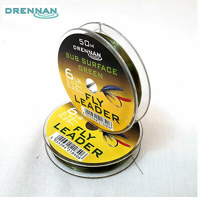 Drennan Subsurface Green Fly Leader 50m  • 3.95£