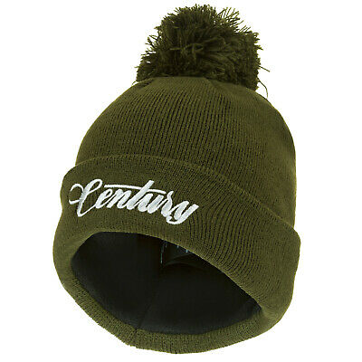 Century Carp Sea Fishing Rods NG Green Bobble Beanie - NEW (8613) • 11.95£