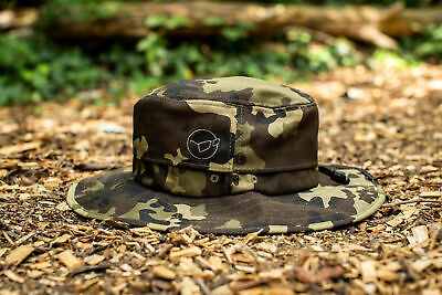 Korda Le Boonie Kamo Kbh25 New Larger Brim Bush Hat Bucket Hat • 15.99£
