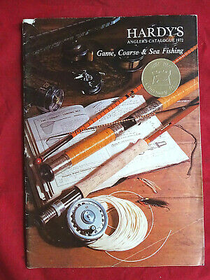 Vintage Hardy Advertising Fishing Catalogue Anglers Guide For 1972 • 16.99£