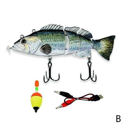 Electric Live Baits, Swimming Robotic Segment Fishing Lure - Animated X2S3 • 13.08£