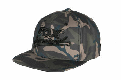 Fox Carp Fishing Head Wear Range - Camo College Snap Back Cap • 16.99£