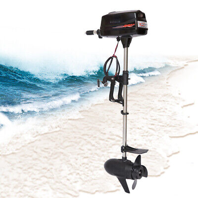 24V 3HP Electric Trolling Motor Outboard Boat Engine Brushless 3000r/min 800W  • 371£