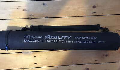 """Shakespeare Agility Exp Spin 9'6"""" 6 Piece Travel Rod • 23£"""