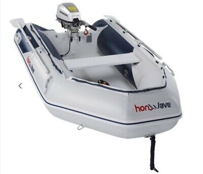 Honwave T32 And Honda 6hp Outboard • 1,850£