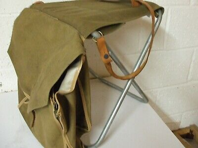 Vintage Canvas Fishing Seat / Tackle Bag  • 49.95£