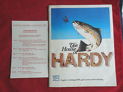 A Vintage Hardy Advertising Fishing Catalogue Anglers Guide For 1970 • 18.99£