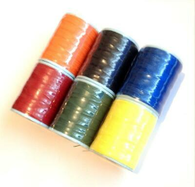 Pac Bay Rod Whipping Nylon Thread Grade Cx2 Spools 6/6 From Dupont High Tenacity • 10.99£