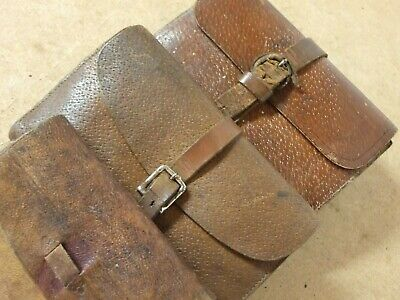 Vintage Leather Fly / Cast Wallets  X 3 Off • 95£