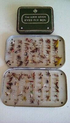 Vintage Fly Boxes And Flies • 10£