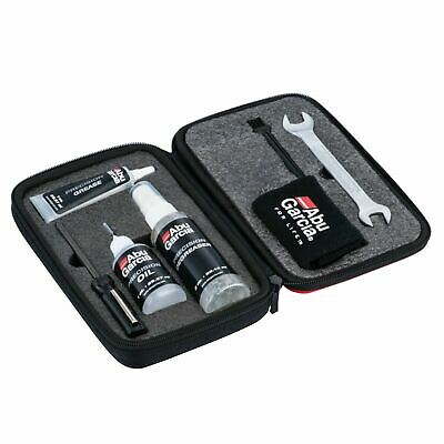NEW 2020! Abu Garcia Fishing Reel Maintenance Kit - Oil Greese Tools Case • 25.85£