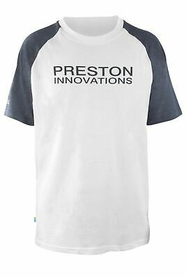 Preston Innovations White T-Shirt • 12.95£
