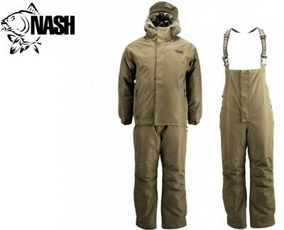 Nash ZT Arctic Suit Nash Jacket + Bib & Brace ALL SIZES NEW 2020 • 149.99£