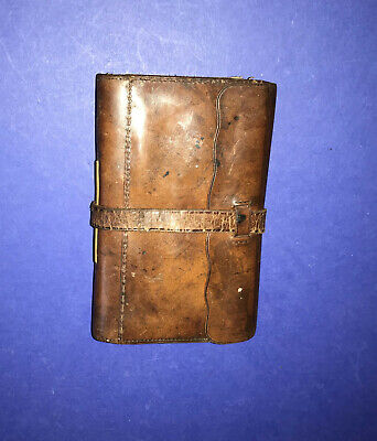 Vintage Leather Fly Wallet • 12.99£