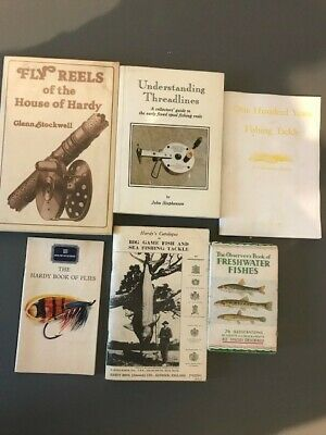 Collectors Vintage Fishing Tackle Books • 6£