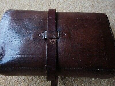 Vintage Leather Fly Wallet = Whitty Of Liverpool • 120£