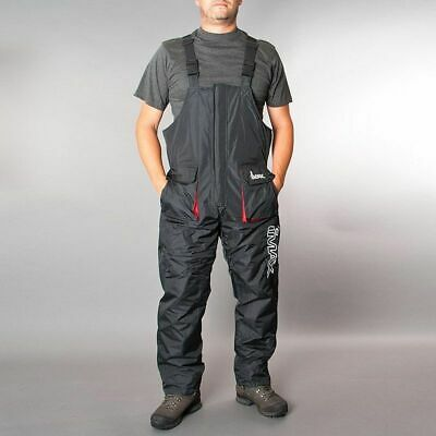 Imax Thermo Bib & Brace * Black * XXL * Fishing Clothing * • 49.99£