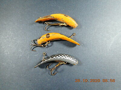 Vintage American Fishing Lures Helin F4 X3 • 4.99£