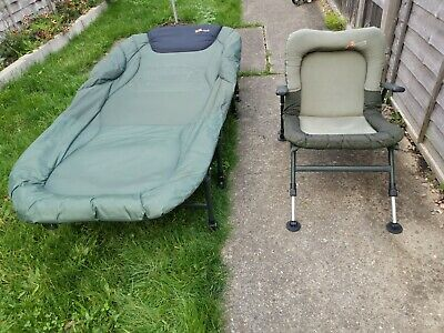 Cyprinus Bedchair And Chair Joblot Fishing Tackle Gear Equipment • 60£