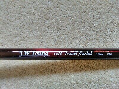 J W Young Travel Barbel Rod • 65£