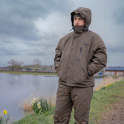 Avid Carp Arctic 50 Suit - Fishing Suit Jacket & Bib N Brace • 149.99£