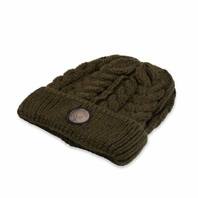 Nash Tackle Chunky Knit Beanie - WOOLLY HAT C5504 -  Warm Thermal Hat • 10.98£