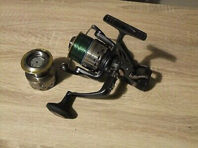 Crivit Fishing Reel Free-spool 5000s And Spare Spool • 14.99£