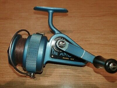J W Young & Sons The Ambidex Mark Six Vintage Fixed Spool Fishing Reel • 9.95£