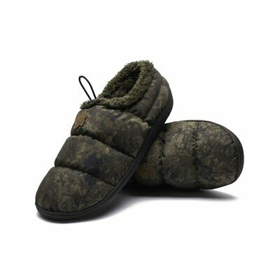 Nash Carp Deluxe Bivvy Slippers Green Or Camo NEW FOR 2021 • 24.99£