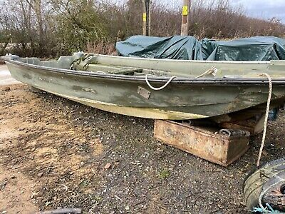 Project Ex MOD Military Marines RTK Mk1 Rigid Raider Heavy Duty Dory Boat Hull • 720£