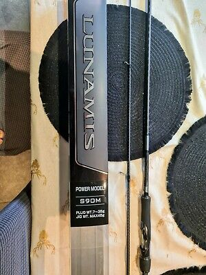 Shimano Lunamis S90m Sea Bass Lure Rod • 200£