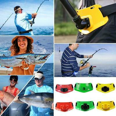 1X Boat Fishing Fighting Belt Adjustable Stand Up Gimbal Rod Holder Pole X9D0 • 8.70£