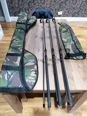 X3 Wychwood 10ft Plus Rods With Sleeves • 81£