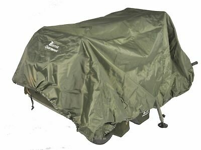 PRESTIGE CARP PORTER GREEN XL (Large) BARROW COVER (direct From Manufacturer) • 34.99£