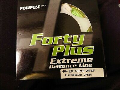 Polyfuse XT. Forty Plus Extreme Distance Line. WF6F. Fluorescent Green. Fly... • 20£