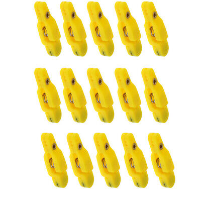 15Pcs Snap Release Clip For Weight Board Fishing Downrigger Trolling Fishing • 11.91£
