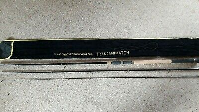 NORMARK TITAN 2000 13' Match Rod, Inc ORIGINAL ROD BAG  VERY GOOD CONDITION • 250£