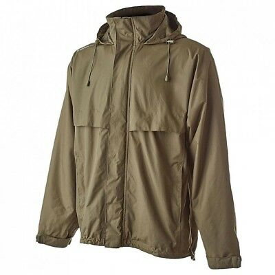 Trakker Downpour+ Jacket Green Waterproof Fishing Jacket NEW Version *All Sizes* • 49.49£