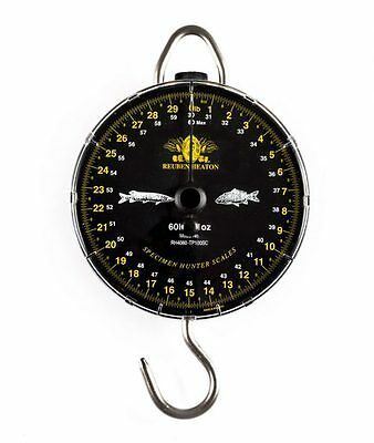 Reuben Heaton NEW Specimen Hunter Fishing Scales 60lb By 1oz *Classic* • 89.99£