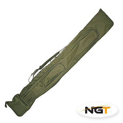 New Ngt 3+3 Carp Rod & Reel Holdall For Made Up Rods Tackle Bag Coarse Fishing  • 24.95£