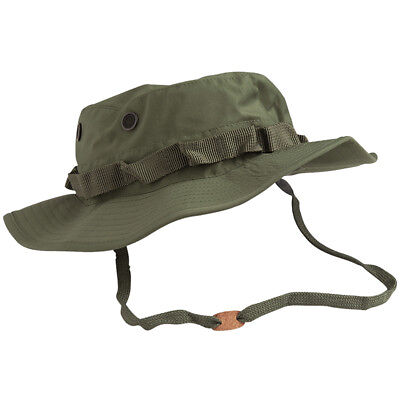 Teesar Us Gi Army Patrol Jungle Boonie Bush Hat Trilaminate Waterproof Cap Olive • 11.95£