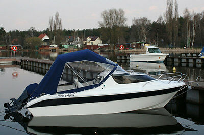 Cabin Boat Fishing Remus 550 17ft High Quality Motor Dinghy Cruiser River Yacht  • 9,499.99£