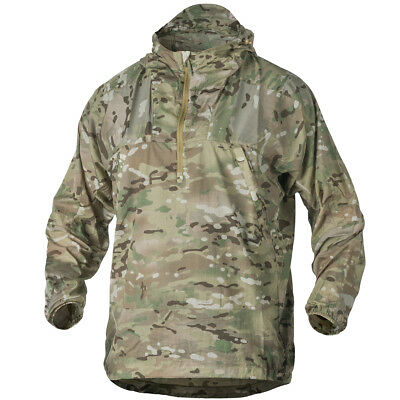 Helikon Windrunner Windshirt Military Tactical Hooded Outdoor Jacket Camogrom • 36£