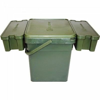 New Ridgemonkey Ridge Monkey Modular Bait Bucket System Standard Or XL - Fishing • 19.94£