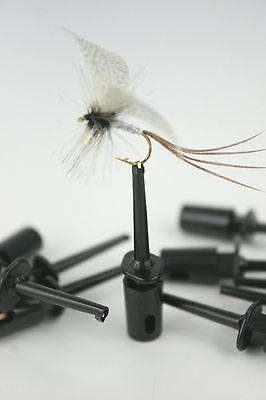 X10,20,50, Fly Tyers Clips/Holders For Dressing & Displaying Fishing Flies • 3.50£
